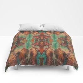 Ecstatic Pelvis (Meat Flame) (Reflected) Comforters