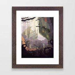 Scene #14: 'Ben' Framed Art Print