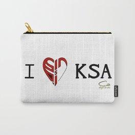 I 'heart' KSA Carry-All Pouch