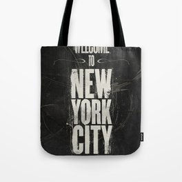 Welcome to New York City Tote Bag