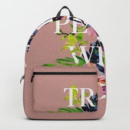 Treat People With Kindness graphic artwork / Harry Styles Backpack