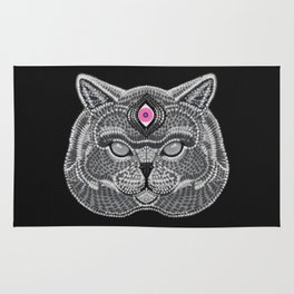 The All Seeing Cat Rug