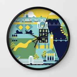 Charing Cross to Pimlico Wall Clock