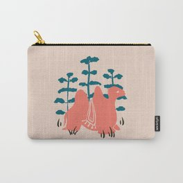 Mongolian Camel Carry-All Pouch