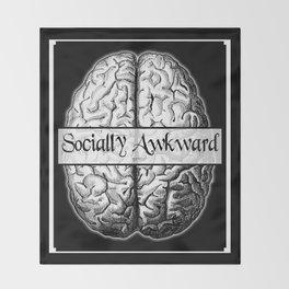 Socially Awkward Throw Blanket