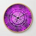 'Purple Destiny' Purple & White Flower Of Life Boho Mandala Design by inspiredimages