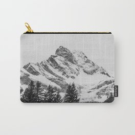 black and white like forest and snow Carry-All Pouch