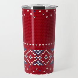 Pattern in Grandma Style #64 Travel Mug