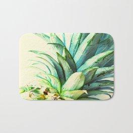 Green Pineapple Bath Mat