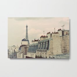 A Parisian View Metal Print