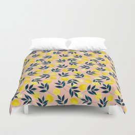 Lemony Goodness Duvet Cover