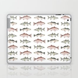 Pattern: Inshore Slam ~ Redfish, Snook, Trout by Amber Marine ~ (Copyright 2013) Laptop & iPad Skin