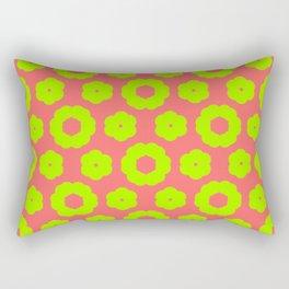 corail and anis Rectangular Pillow