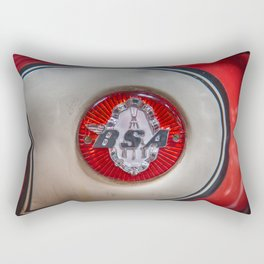 BSA Motorbike Badge Rectangular Pillow