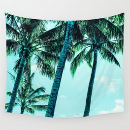 Tropical blues Wall Tapestry