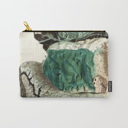 Vintage Mineralogy Illustration Carry-All Pouch