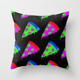 Pizza Invasion Throw Pillow