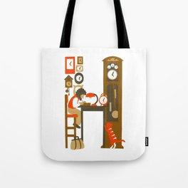 H as Horloger (Watchmaker) Tote Bag