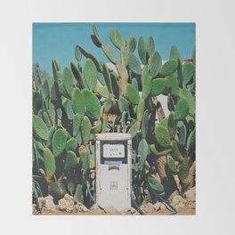 Cactus IV Throw Blanket