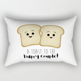 A Toast To The Happy Couple! Rectangular Pillow