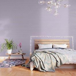 Lavender Chevron Pattern Wallpaper