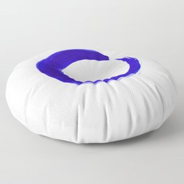 Enso Serenity No.6l by Kathy Morton Stanion Floor Pillow
