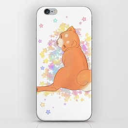 Judging shibbe (with stars) iPhone Skin