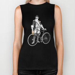 Every weekend I take the fixed gear to the farmers market for Vegan Artisan Granola. Biker Tank