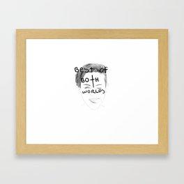 Miley Cyrus - Best of both worlds Framed Art Print