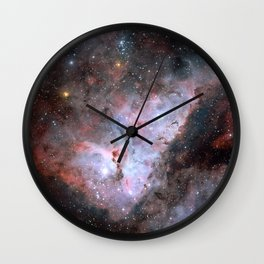 Stars in Space Astronomy Art Wall Clock