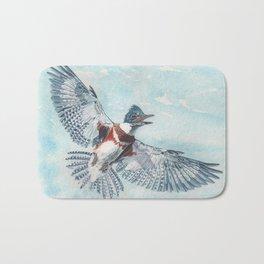 Belted Kingfisher Bath Mat