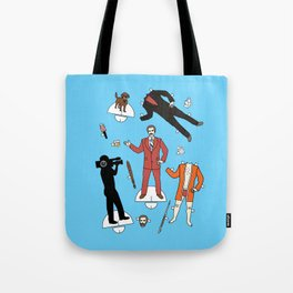 Cut It Out: Ron Burgundy Tote Bag