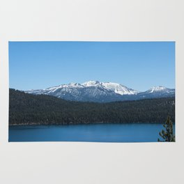 Carson Range Photography Print Rug