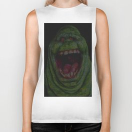Slimer: Ghostbusters Screenplay Print Biker Tank