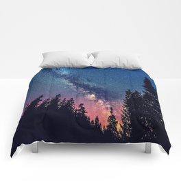 Milky Way IV Comforters