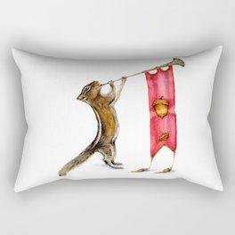 Herald Chipmunk Rectangular Pillow