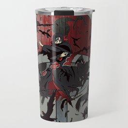 Itachi Uchiha Jutsu Travel Mug
