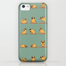 Pug Yoga iPhone 5c Slim Case