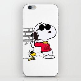 Joe Cool Snoopy iPhone Skin