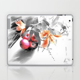 apples and lilies Laptop & iPad Skin