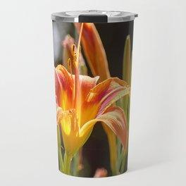 Lilies in the Sunshine Travel Mug