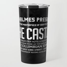 H.H.Holmes Presents: The Castle Travel Mug