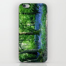 The Bluebell Dell iPhone Skin