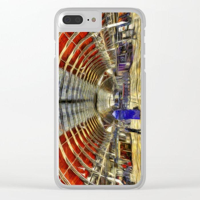 Paddington Railway Station Art Clear iPhone Case