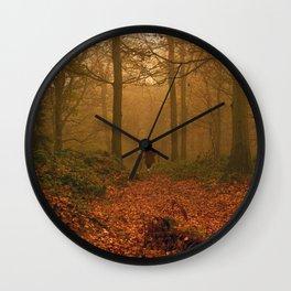 I Hunt Wall Clock