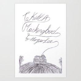 To Kill A Mockingbird Art Prints