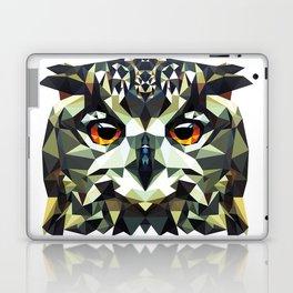 Polygon Owl Laptop & iPad Skin