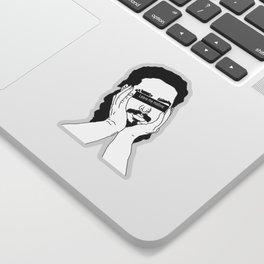 Leave Me Malone Sticker