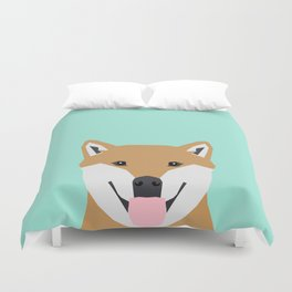 Cassidy - Shiba Inu gifts for dog lovers and cute Shiba Inu phone case for Shiba Inu owner gifts Duvet Cover