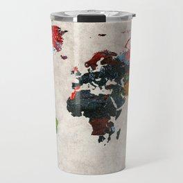 World Map 56 Travel Mug